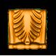 кронштейн, резной декор